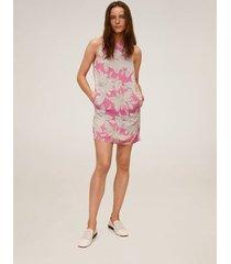 jurk met bloemetjesprint