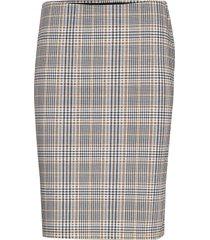 frficheck 2 skirt knälång kjol multi/mönstrad fransa