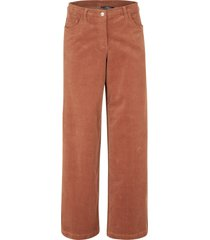 pantaloni larghi di velluto (marrone) - bpc bonprix collection