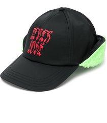 diesel cifur aviator baseball cap - black
