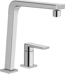 misturador monocomando para cozinha mesa bistrô sem ducha manual cromado - docol - docol