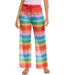 bp. be proud by bp gender inclusive laci drawstring pants, size xxx-large - red
