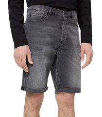 "hugo hugo boss men's 634s tapered-fit stretch 10"" denim shorts"