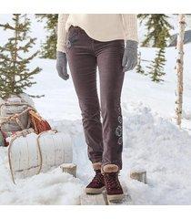 posh velveteen jeans petite