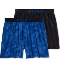 jockey men's 2-pk. boxer briefs