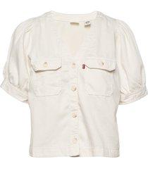 bryn shirt soft dunes blouses short-sleeved creme levi´s women
