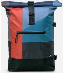 maleta rayas azul 20 lts mônt bags