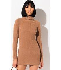 akira comfy queen plush sweater dress