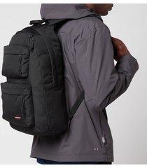 eastpak men's padded double backpack - black