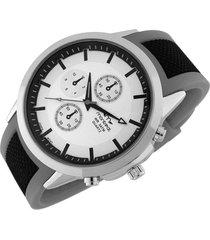 reloj gris montreal combinado