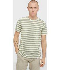samsøe samsøe carpo t-shirt st 7888 t-shirts & linnen chive