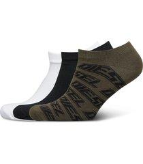 skm-gost-threepack socks ankelstrumpor korta strumpor multi/mönstrad diesel men