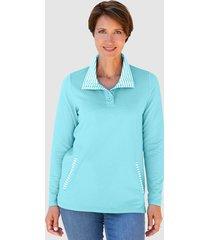 sweatshirt paola lichtblauw