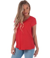 womens nova lux deep v top