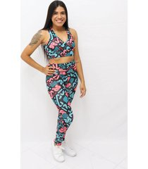top com estampa sublimada kobe multicolorido - kanui