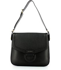 coccinelle designer handbags, black vega maxi shoulder bag