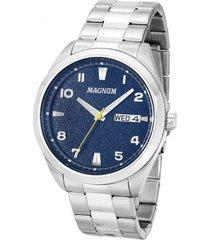relógio magnum masculino ma34923f