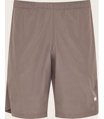 pantaloneta  deportiva unicolor gris s