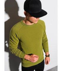 ombre sweater heren b1156 olijf groen