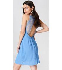 samsoe & samsoe willow short dress - blue