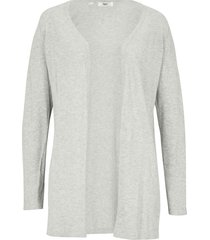 cardigan con spacchi (grigio) - bpc bonprix collection