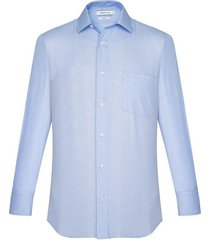 camisa formal con textura silueta semi ajustada hombre 93373