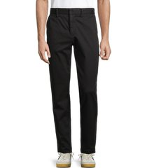 joe's jeans men's the soder dropped-waist slim twill pants - jet black - size 36