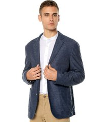 blazer azul brooksfield