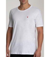 camiseta bispo relaxed logo masculina