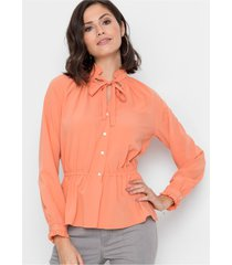 blouse met ruches
