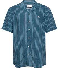 escobar short sleeve overhemd met korte mouwen groen bls hafnia