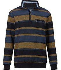 sweatshirt babista blauw::mosterdgeel