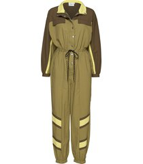 afrangz jumpsuit ms20 jumpsuit geel gestuz