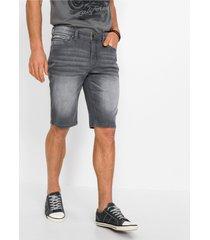 slim fit stretch jeans bermuda