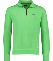 sweater nza red peak lime groen