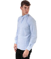 mens striped fancy cotton fitted shirt