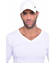 gorra beisbolera quest color blanco