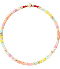 roxanne assoulin soft serve candy necklace - pink