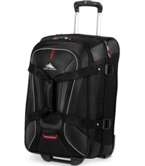 "high sierra at7 22"" carry-on wheeled upright duffle"