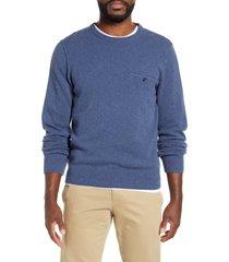 men's frame cashmere blend sweater