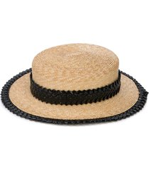 agnes straw hat
