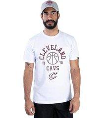 camiseta cleveland cavaliers nba new era masculino