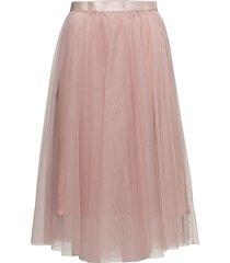 flawless skirt knälång kjol rosa ida sjöstedt