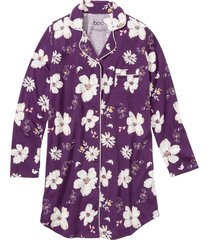 camicia da notte con bottoni (viola) - bpc bonprix collection