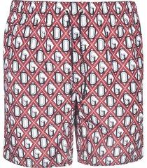 dolce & gabbana d & g motif shorts
