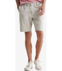lucky brand men's laguna linen flat front shorts