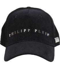 philipp plein philippe plein cap baseball tm in velvet