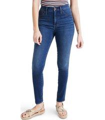 women's madewell 10-hour roadtripper jeans, size 24 - blue