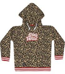 yporque printed hoodie