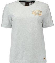 t-shirt glitter grijs